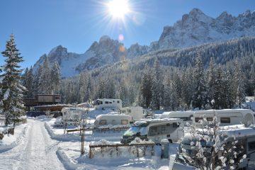 Wintercamping. Foto: ADAC