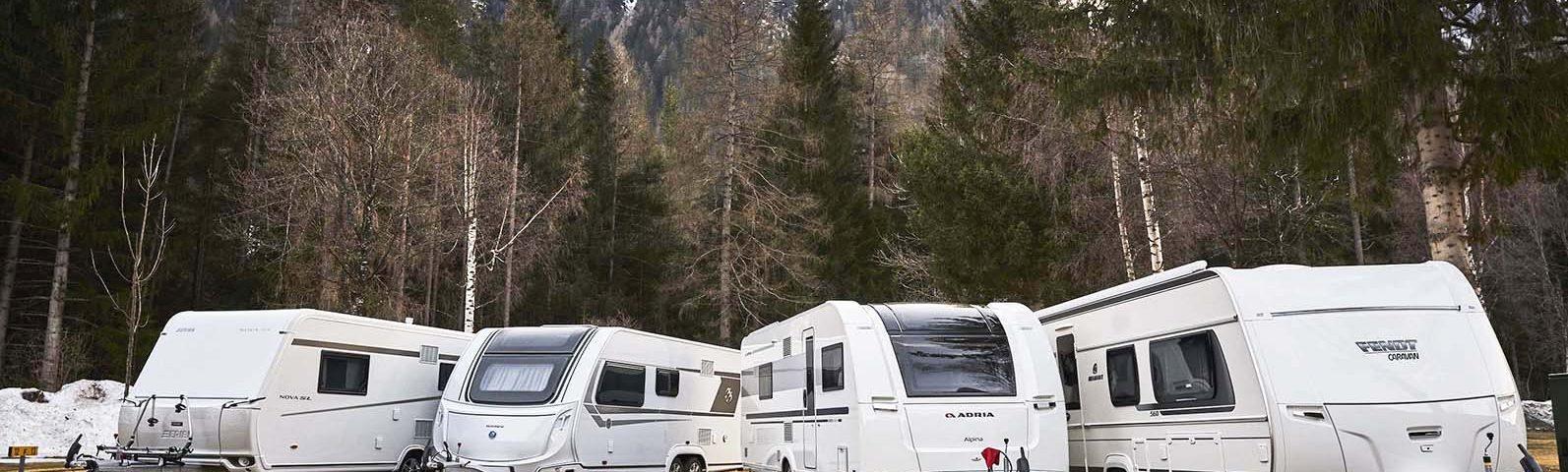 ADAC Test Wintercaravans